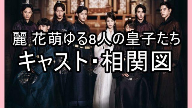 麗 花萌ゆる8人の皇子たち キャスト 相関図 一覧 年齢 画像